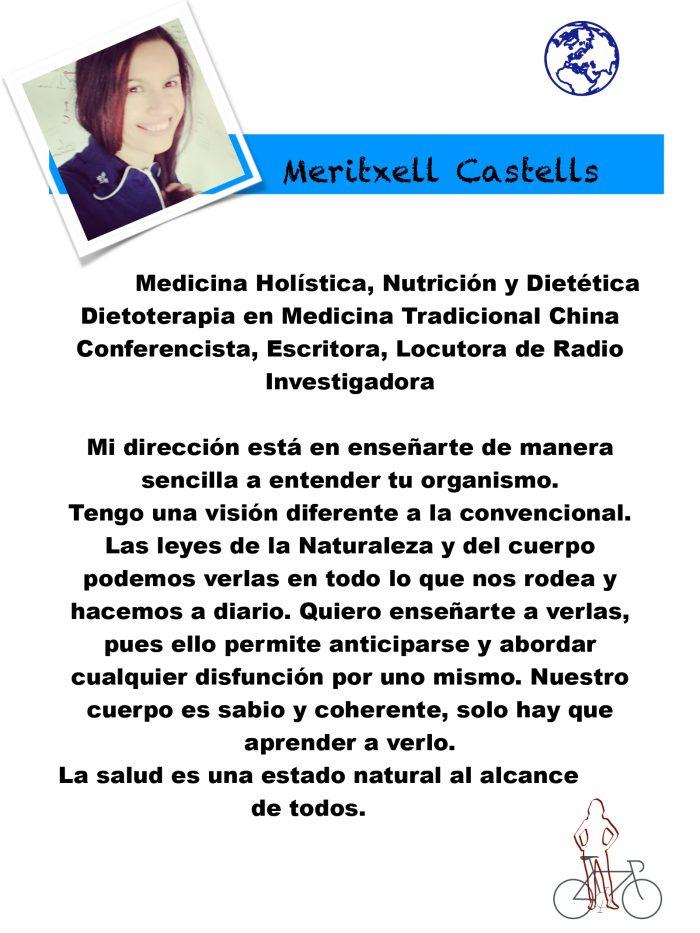 conferencia dietética el organismo inteligente. una visión diferente por Meritxell Castells